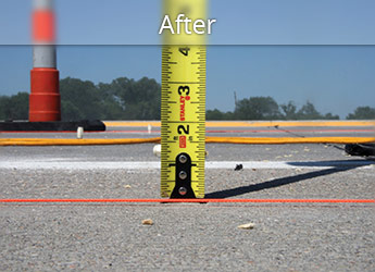 After leveling Scottsdale roadway with PolyLevel®