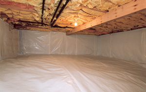 CleanSpace® vapor barrier after in Mesa